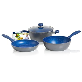 FlavorStone Stoneware Frying Pans