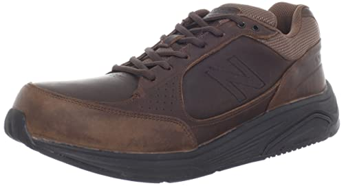 New Balance Men's MW928 Walking Shoe,Brown,8 D US