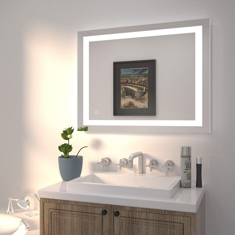 HAUSCHEN Makeup Vanity Mirror With Lights Reviews