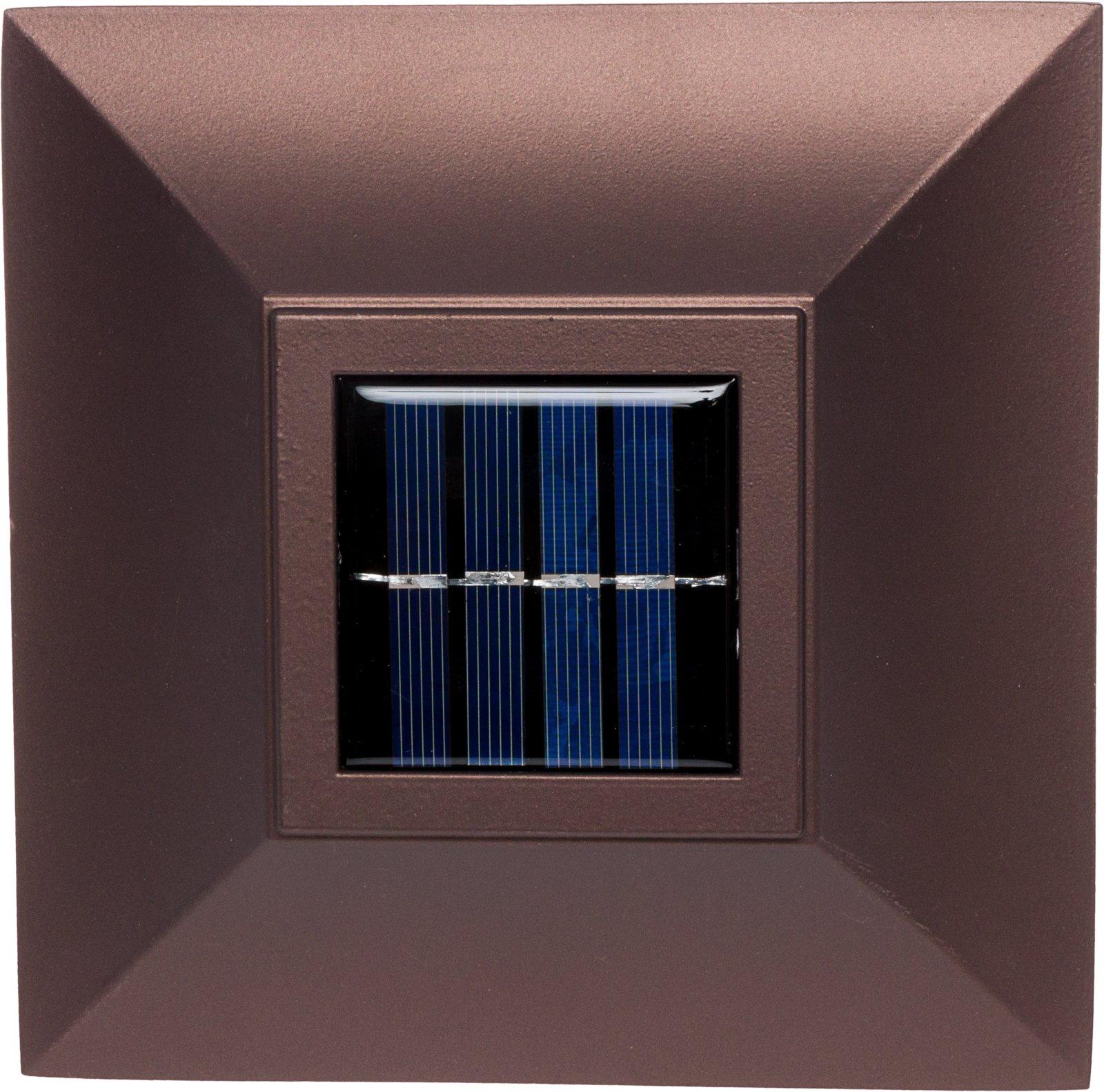 GreenLighting Bronze Aluminum Solar Post Cap Light 4x4 Wood & 6x6 PVC (2 Pack) by GreenLighting (Image #6)