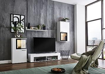 Bmg Mobel Wohnwand Schrankwand Wohnzimmerschrank Mediawand Anbauwand