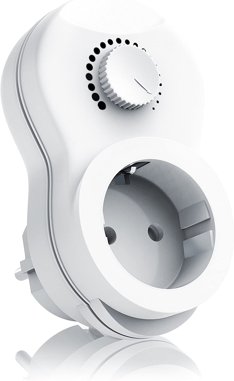 Arendo - Enchufe con regulador de Luz - Dimmer - Interruptor con regulador de intensidad - Modelo optimizado -