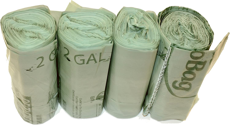 BioBag 2 Gallon Compostable Liner 100