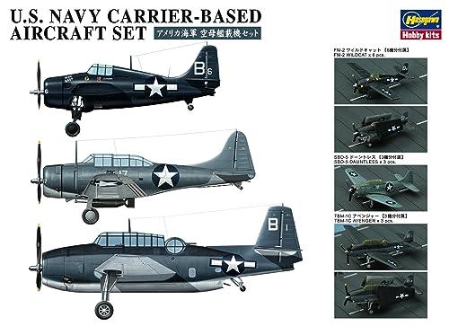 ハセガワ 1/350 アメリカ海軍 空母艦載機セット プラモデル用パーツ QG47