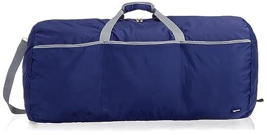 AmazonBasics Large Duffel Bag, Navy Travel Duffles