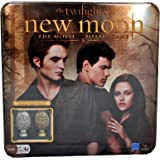 """Cardinal The Twilight Saga Movie Series """"NEW MOON"""" Board Game with Collectible Metal Cullen Crest Pieces"""