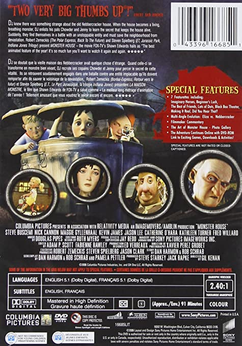 Amazon.com: Monster House: Mitchel Musso, Sam Lerner ...
