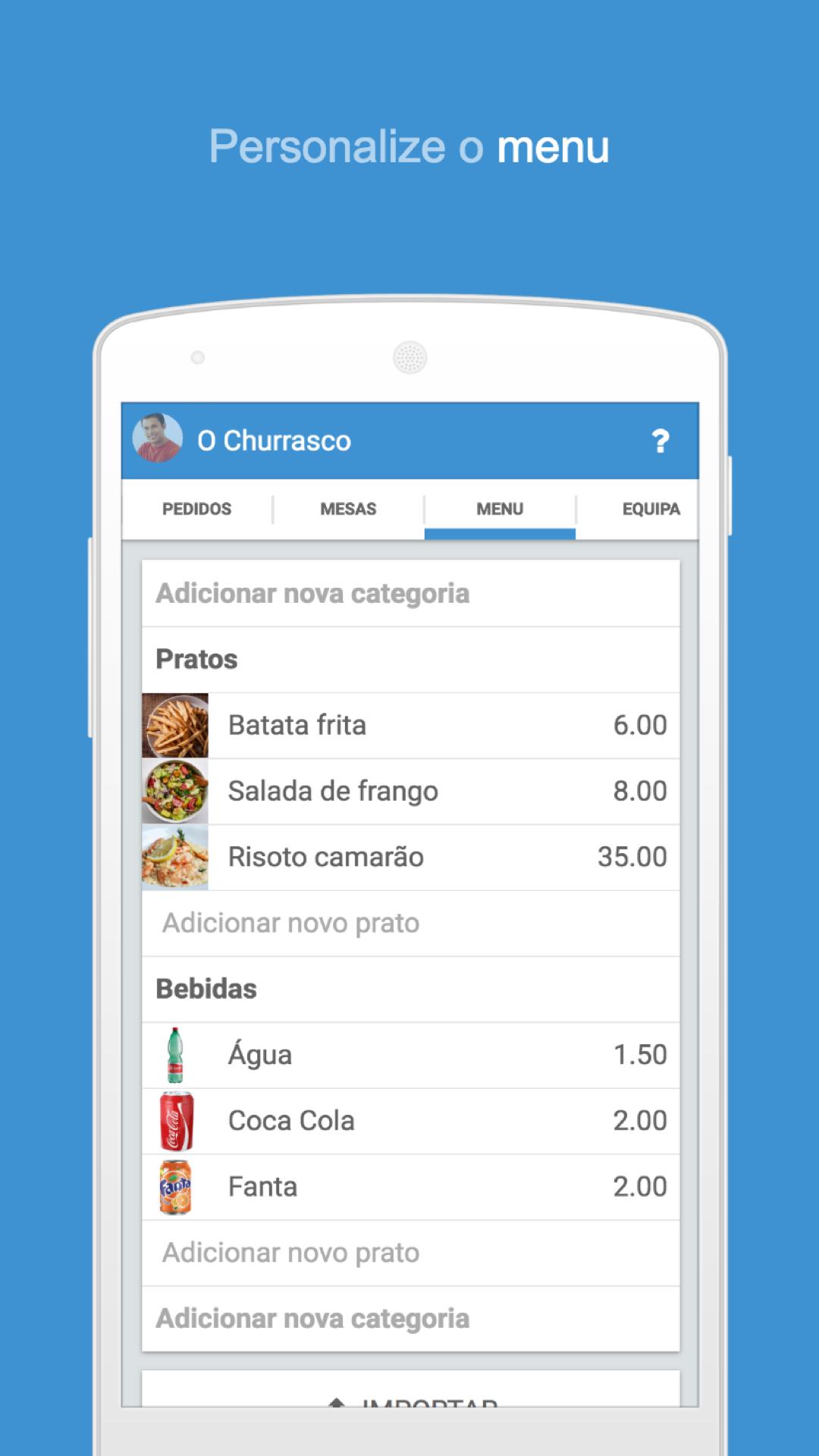 Garçom PDV Restaurante PDV Bar: Amazon.com.br: Amazon Appstore