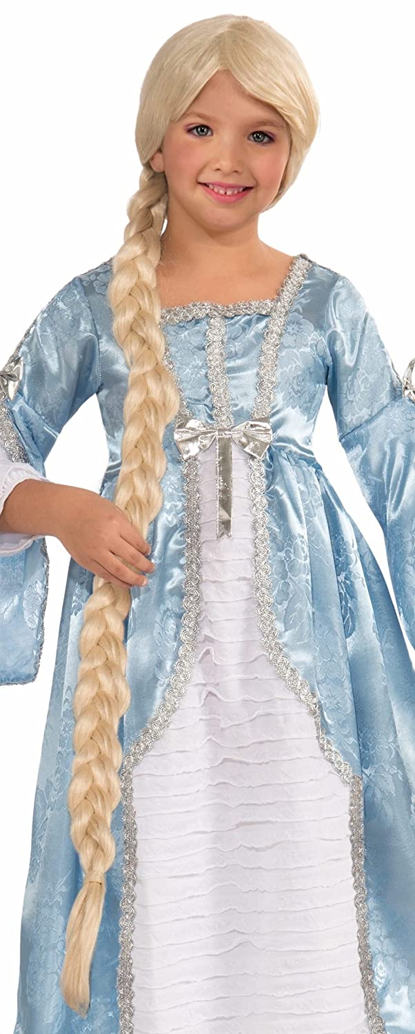 Princess of the Tower Girls Costume Wig - Child Std. Blonde Forum Novelties 71846