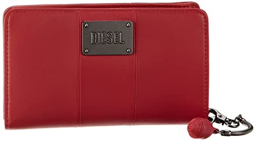 Diesel Moonstone - Monedero de Cuero Mujer, Color Rojo ...