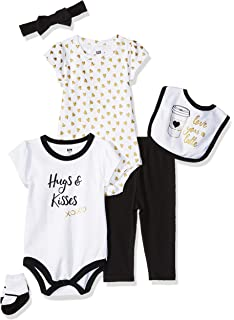 13c0b0653acc Amazon.com: Little Treasure Baby 6 Piece Clothing Set: Clothing