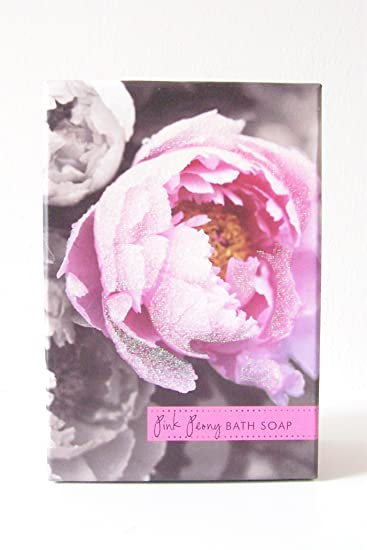 CST Boxed Bath Bar Soap, Floral (sparkle Box) (Pink Peony)