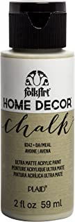 product image for FolkArt Home Décor Chalk Furniture & Craft Paint in Assorted Colors, 2oz, Oatmeal