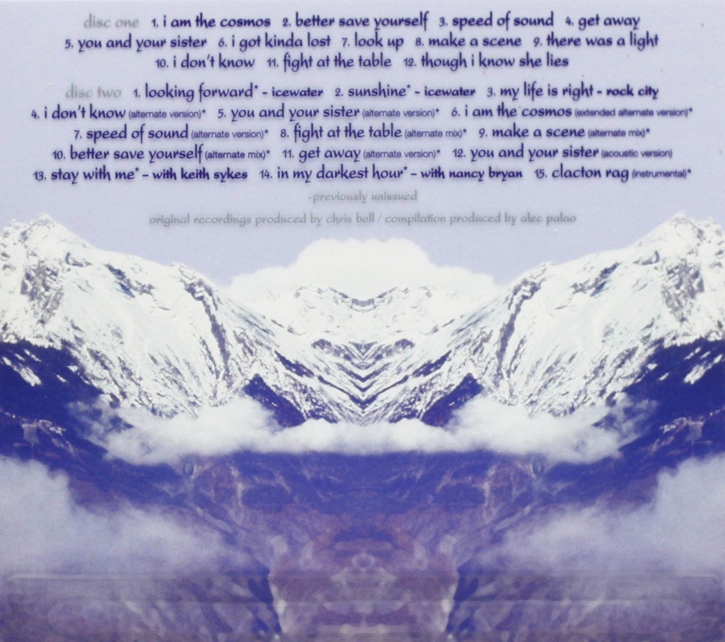 I Am The Cosmos (Deluxe Edition) (2CD) by Rhino Handmade
