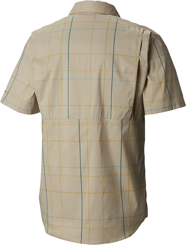 Columbia Silver Ridge Lite - Camisa de Manga Corta para Hombre, Color Plateado: Amazon.es: Ropa y accesorios