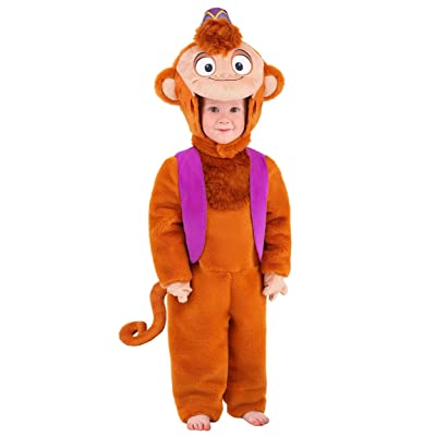 Aladdin Toddler Abu Deluxe Costume: Clothing