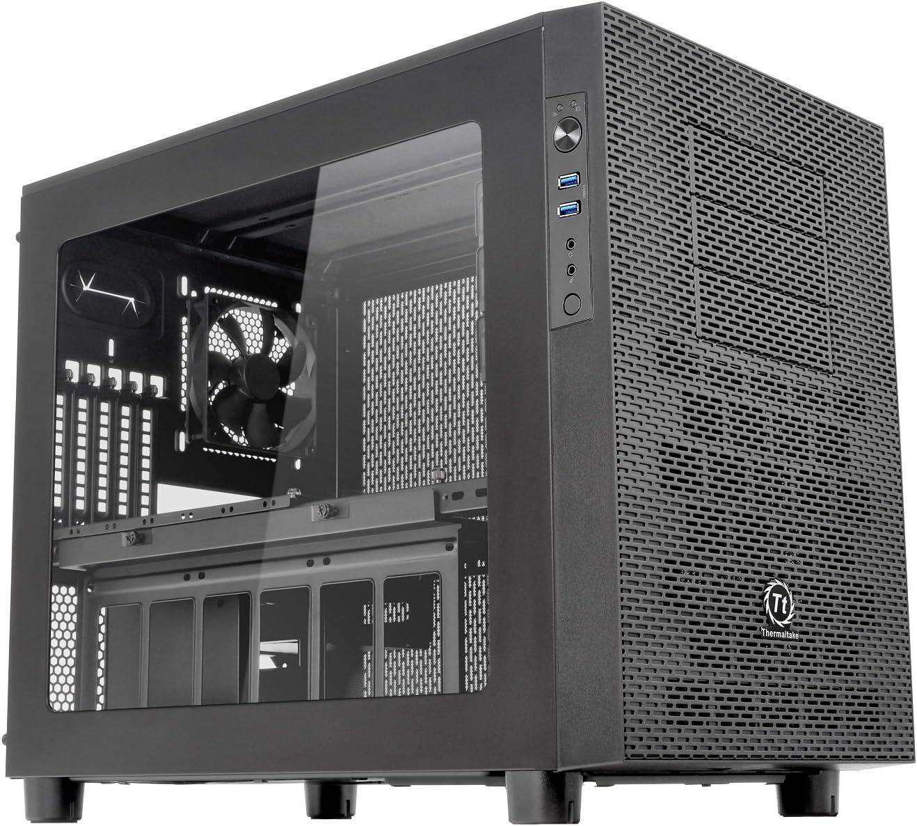 Thermaltake Core X2 - Caja de Ordenador (Cubo, PC, 1x 120 mm, SPCC, 1x 120 mm, Fondo): Amazon.es: Informática