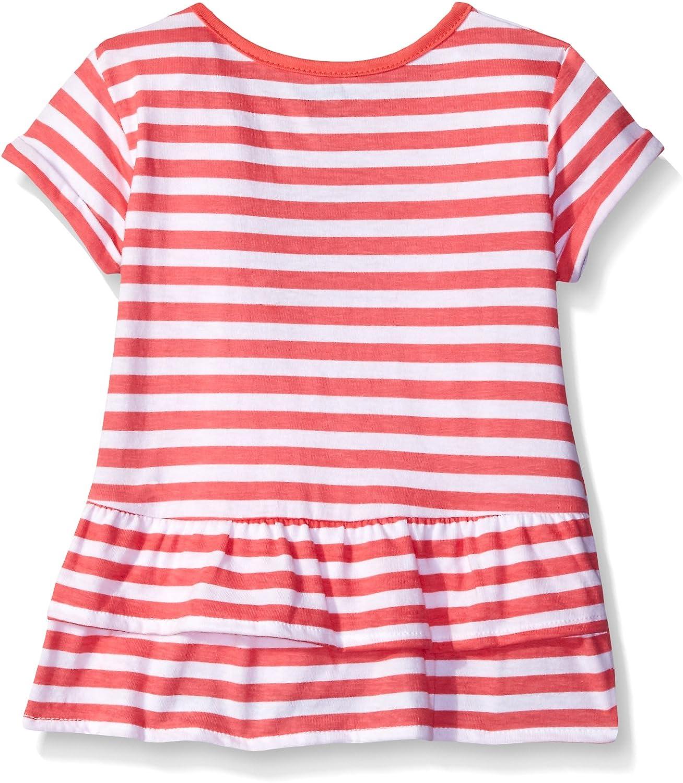 Gerber Graduates Baby Girls Short Sleeve Swing Top with Back Ruffle