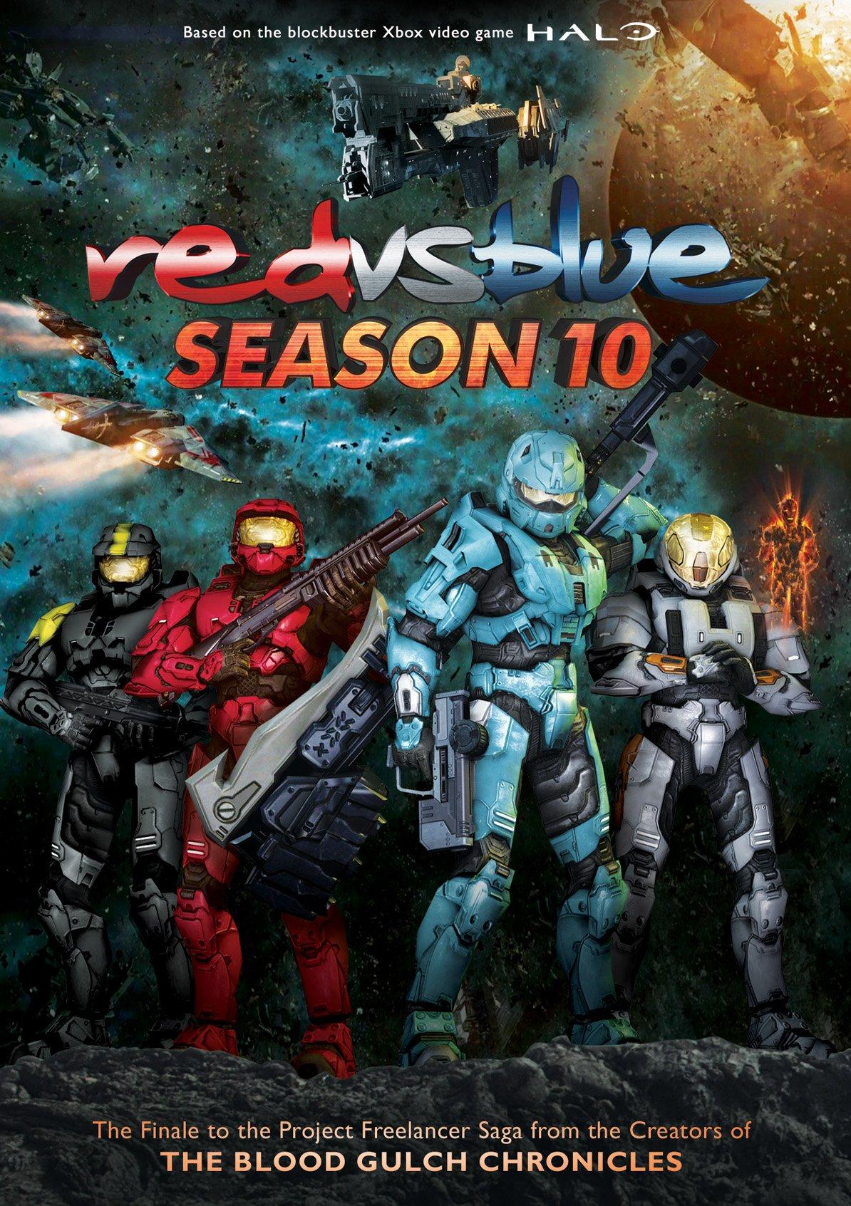 DVD : Red Vs Blue: Season 10 (DVD)