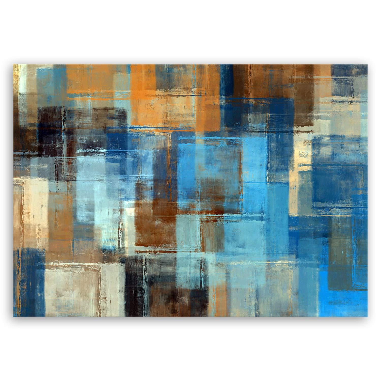 ge-Bildet® Impressions sur toile couleur abstraite I - 30x20 cm - directement auprès du fabricant de l'Allemagne - Made in Germany