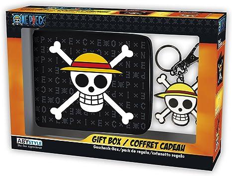 ABYstyle - ONE PIECE - Caja de regalo - Monedero + Llavero Skull ...