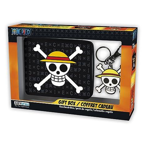 ad524810e20ee ABYstyle - Monedero con Llavero de One Piece con Calavera y Sombrero de  Luffy