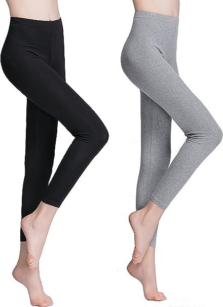 Vinconie Leggins Mujer Leggings Deporte Mallas Fitness Pantalon ...