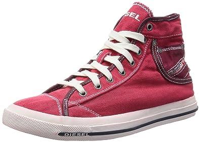 Diesel Exposure I Herren High Red Top Sneaker Farbe Tango Red High Gr. EU 42 fd51cd