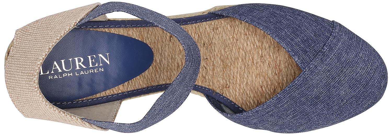 54199542f86 Amazon.com | Lauren Ralph Lauren Women's Charla, Blue Denim Elastic ...