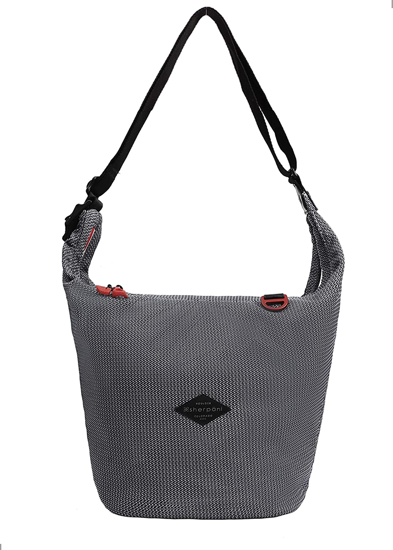 Sherpani Payton, Medium Crossbody Purse, Nylon Mesh Shoulder Bag, Hobo Bag, Crossbody Bags for Women Fits 10 Inch Tablet