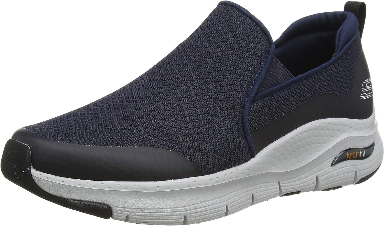 Skechers Arch Fit, Zapatillas sin Cordones para Hombre