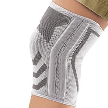 134bf2dfd1 ACE Knitted Knee Brace with Side Stabilizers, Large, America's Most Trusted  Brand of Braces
