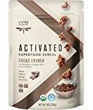 Living Intentions Activated Superfood Cereal, Gluten Free, Vegan, Organic, Cacao Crunch, 9 Ounce