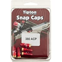 Tipton Pistol Snap Caps .380 ACP with False Primer and Reusable Construction for Dry-Firing, Practice and Safe Firearm…