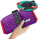 New mifold Comfort Grab-and-go Car Booster Seat- 3X Thicker Cushion! Compact and Portable for Every Day, Carpooling, Travel,