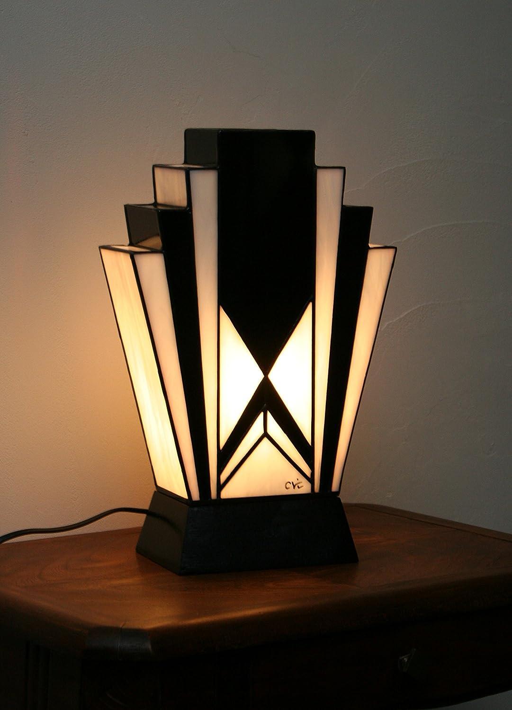Déco À Art Grande Poser TiffanyVitrail Lampe lF3cuT1JK