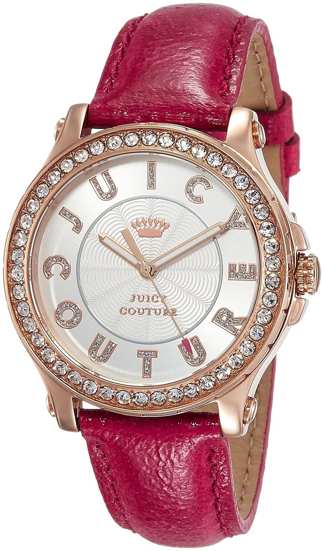 Pedigree women'Juicy Couture Damen-Armbanduhr 1725.1562 Analog 1901204 Lederarmband