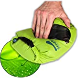 Scrubba Mini Portable Wash Bag – Ultra Light Hand Washing Machine for Hotel and Travel Wash – Smallest Eco-Friendly Camping L