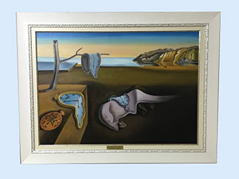 Cuadro Óleo sobre lienzo: SALVADOR DALÍ (LA PERSISTENCIA) - Replica realizada por copistas