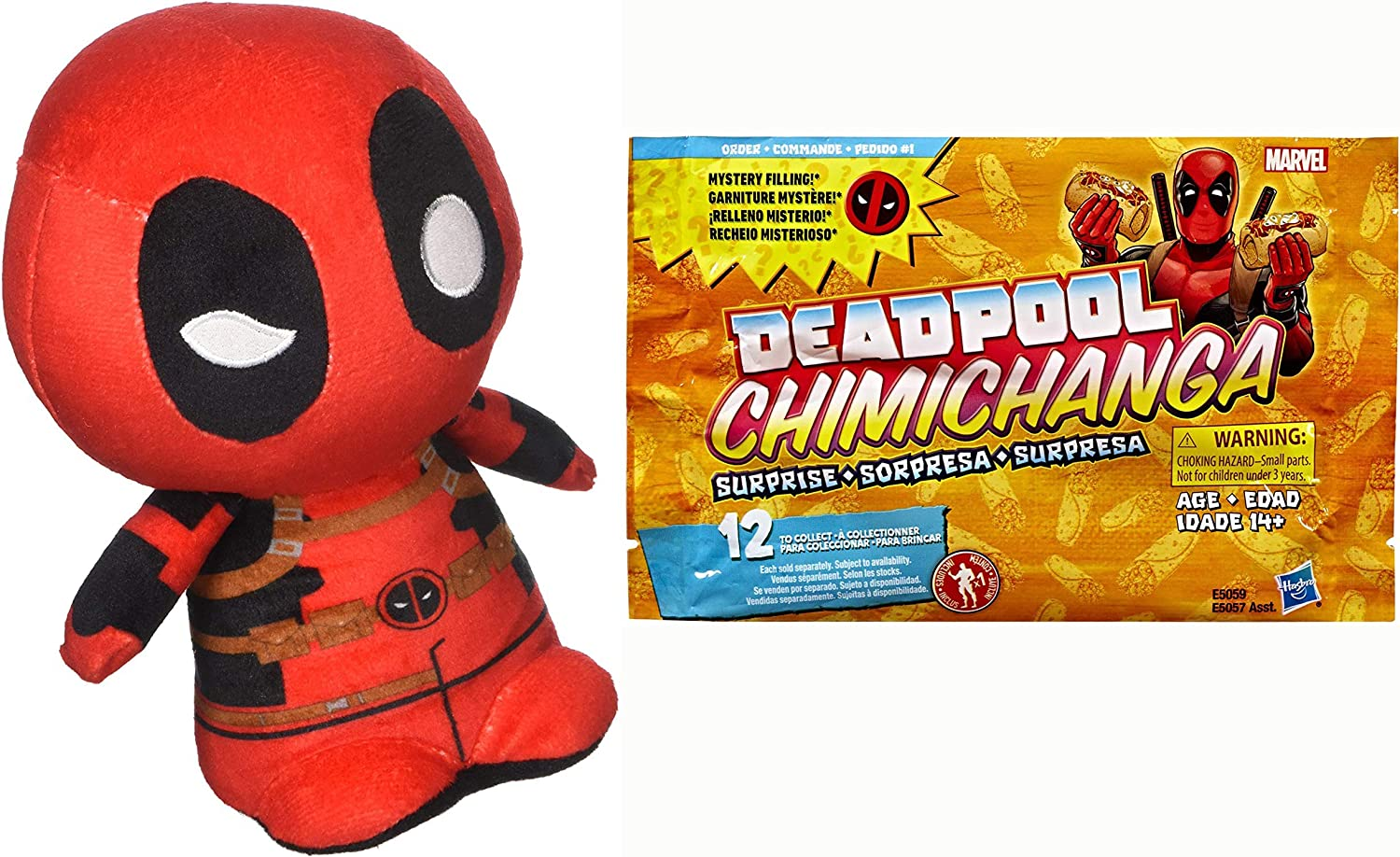 Funko Merck with A Mouth Hungry Man Pack Super Cute Plushies: Deadpool +: Amazon.es: Juguetes y juegos