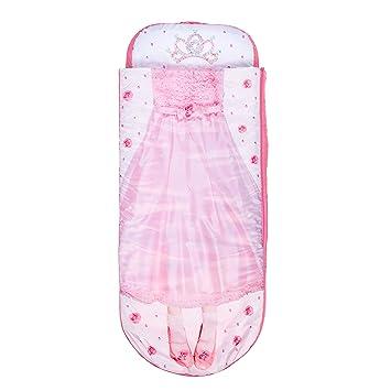 Readybed Cama Hinchable y Saco de Dormir Infantil Dos en Uno, Poliéster, Rosa, Individual, 75x75x90 cm: Amazon.es: Hogar