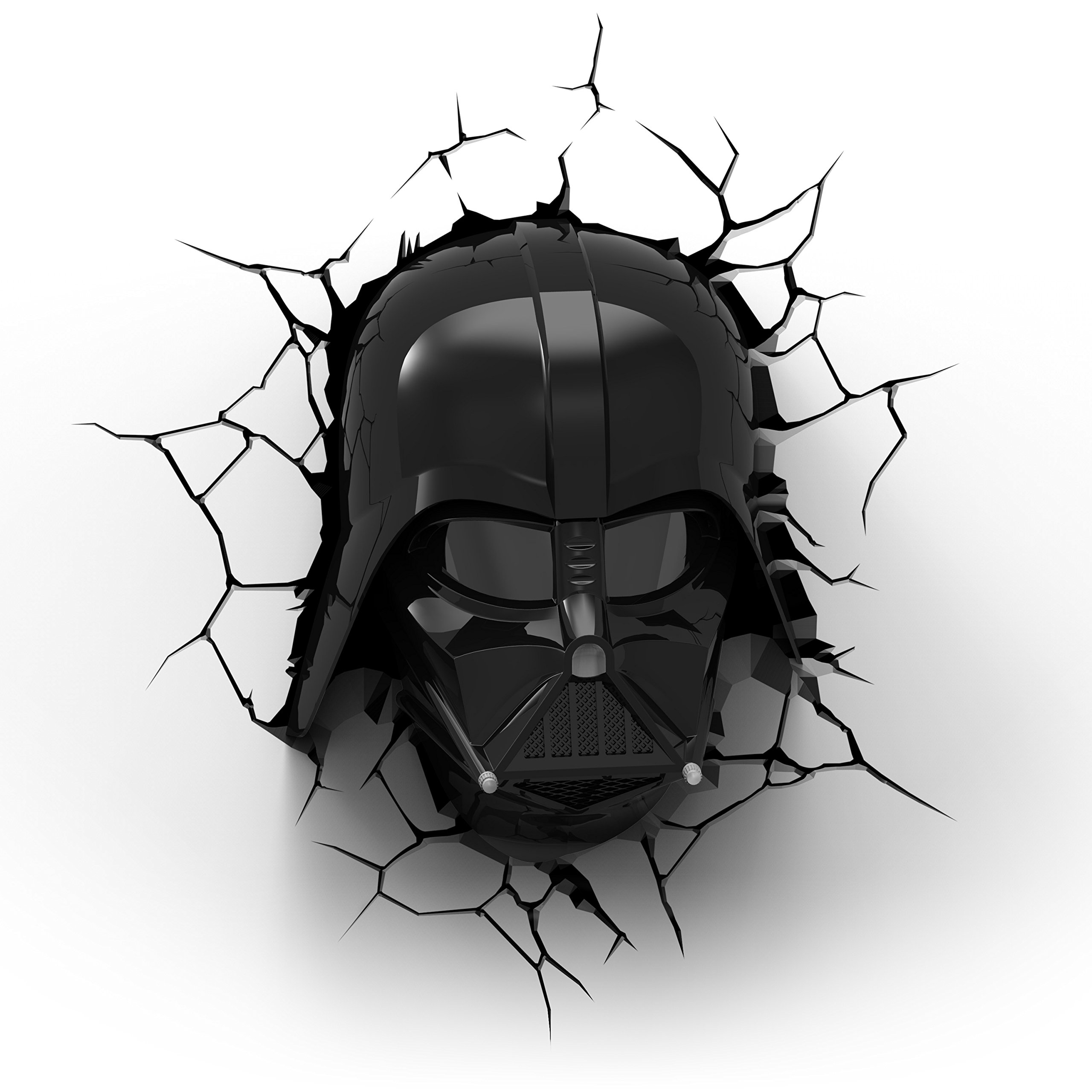 Star Wars Darth Vader 3D Wall Light With Remote Control Star Wars Movie