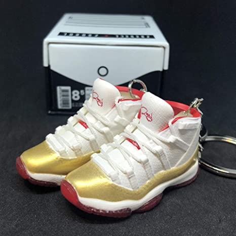 Amazon.com   Pair Air Jordan XI 11 Retro PE Ray Allen Red ...