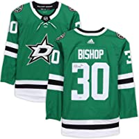 $349 » Ben Bishop Dallas Stars Autographed Green Adidas Authentic Jersey - Autographed NHL Jerseys