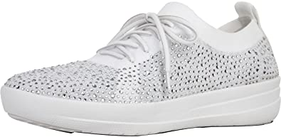 e4f5f695bc88 Image Unavailable. Image not available for. Colour  FitFlop Trade  F-Sporty™  Uberknit Sneakers - Crystal