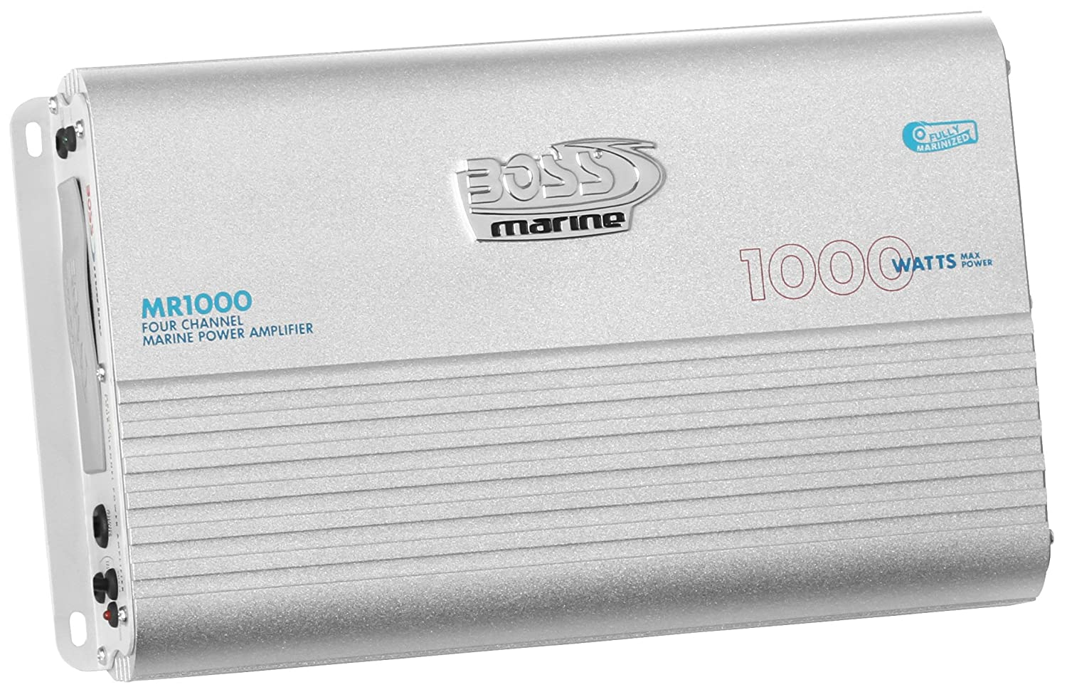 Boss Audio Mr1000 Marine Grade 1000 Watt 4 Channel 2 Collection Scheme Power Amplifier High Mosfets Ohm Stable Class A B Full Range Bridgeable Mosfet Supply With Remote