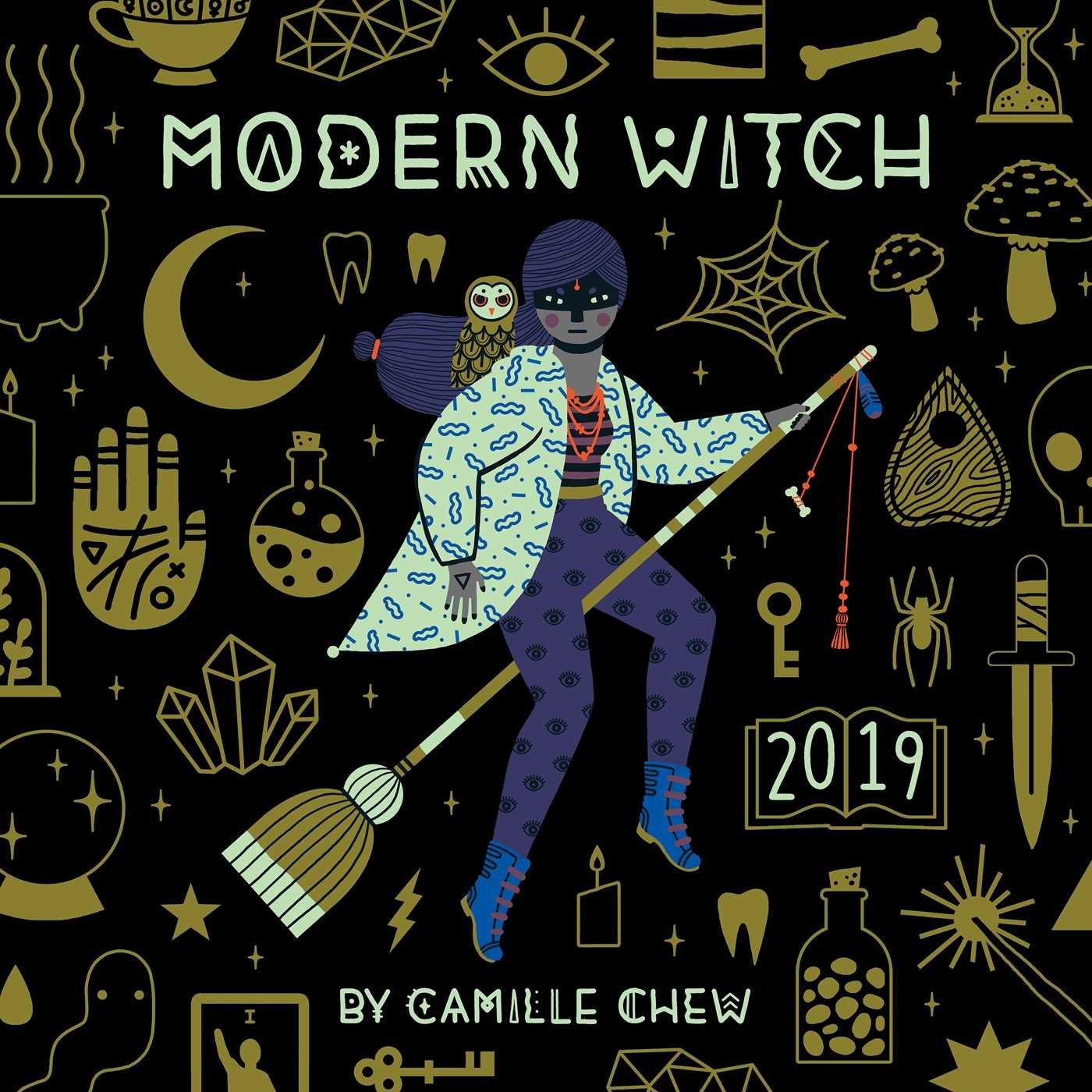 Modern Witch 2019 Wall Calendar: Camille Chew: 9781449494094: Amazon
