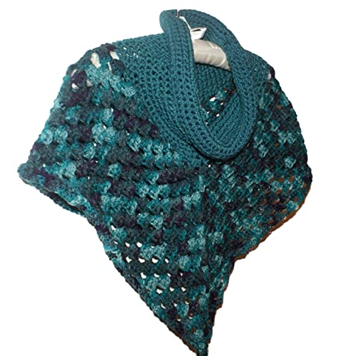 Amazoncom Crochet Toddler Poncho Girls Cowl Neck Capelet Teen