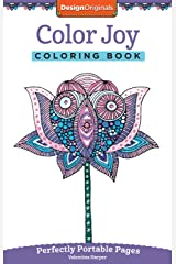 Color Joy Coloring Book: Perfectly Portable Pages (On-the-Go Coloring Book) (Design Originals) Extra-Thick High-Quality Perforated Paper; Convenient 5x8 Size is Perfect to Take Along Wherever You Go
