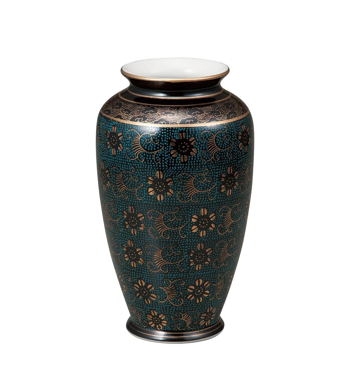 マルヨネ 九谷焼 花器 8号花瓶白七宝 K4-1311 B0182IAWC2 白七宝